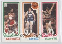 Dan Roundfield, Dan Issel, Brian Winters [Good to VG‑EX]