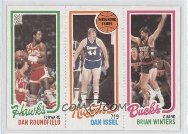 1980-81 Topps #DRDIBW - Dan Roundfield, Dan Issel, Brian Winters