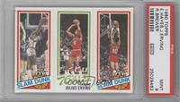 Slam Dunk Star (Elvin Hayes), Julius Erving, Slam Dunk Star (Ron Brewer) [PSA&n…