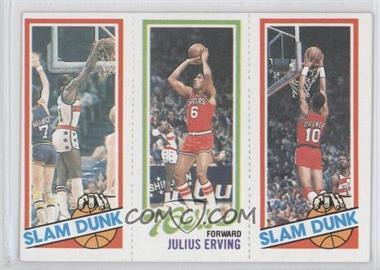 1980-81 Topps #EHJERB - Slam Dunk Star (Elvin Hayes), Julius Erving, Slam Dunk Star (Ron Brewer)