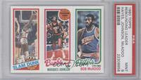 Elvin Hayes, Marques Johnson, Bob McAdoo [PSA 9]