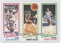 Earl Monroe, Terry Tyler, James Silas