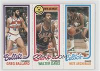 Greg Ballard, Walter Davis, Nate Archibald