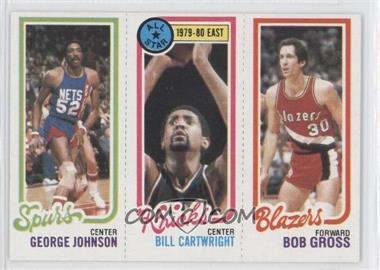 1980-81 Topps #GJBCBG - George Johnson, Bill Cartwright, Bob Gross