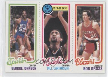 1980-81 Topps #GJBCBG - George Johnson, Bill Cartwright, Bob Gross