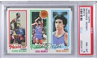 George McGinnis, Eric Money, Mike Bratz [PSA 8]