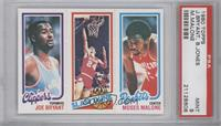Bobby Jones, Moses Malone, Joe Bryant [PSA 9]
