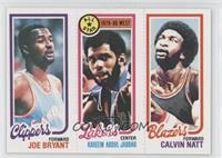 Joe Bryant, Checklist/All-Star (Kareem Abdul-Jabbar), Calvin Natt