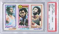 Joe Bryant, Checklist/All-Star (Kareem Abdul-Jabbar), Calvin Natt [PSA7]