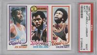 Joe Bryant, Checklist/All-Star (Kareem Abdul-Jabbar), Calvin Natt [PSA9]