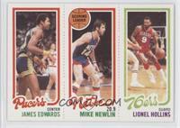 James Edwards, Mike Newlin, Lionel Hollins