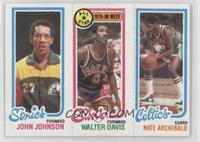 John Johnson, Walter Davis, Nate Archibald