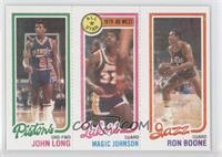 John Long, Magic Johnson, Ron Boone [GoodtoVG‑EX]