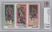 John Long, Magic Johnson, Ron Boone [BVG 7.5]