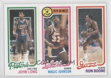 1980-81 Topps #JLMJRB - John Long, Magic Johnson, Ron Boone