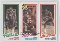 John Long, Magic Johnson, Ron Boone