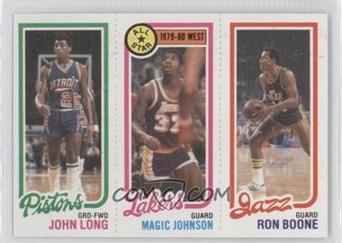 1980-81 Topps #JLMJRB - John Long, Magic Johnson, Ron Boone