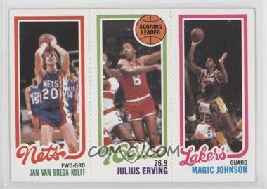 1980-81 Topps #JVJEMJ - Jan Van Breda Kolff, Julius Erving, Magic Johnson
