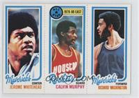 Jerome Whitehead, Calvin Murphy, Richard Washington