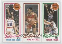 Kareem Abdul-Jabbar, Mike Mitchell, Terry Tyler [Good to VG‑EX]