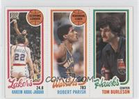 Kareem Abdul-Jabbar, Robert Parish, Tom Burleson