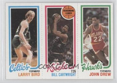 1980-81 Topps #LBBCJD - Larry Bird, Bill Cartwright, John Drew