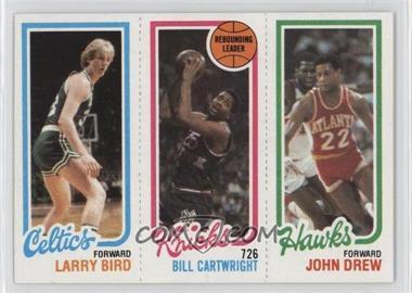1980-81 Topps #LBBCJD - Larry Bird, Bill Cartwright, John Drew