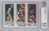 Larry Bird, Julius Erving, Magic Johnson [BVG 6.5]