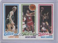 Larry Bird, Julius Erving, Magic Johnson [GoodtoVG‑EX]
