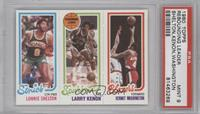 Lonnie Shelton, Larry Kenon, Kermit Washington [PSA 9]