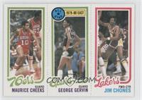 Maurice Cheeks, George Gervin, Jim Chones