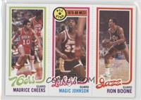 Maurice Cheeks, Ron Boone