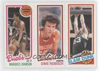 Marques Johnson, Dave Robisch, Rick Robey