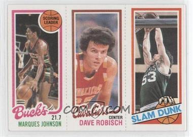 1980-81 Topps #MJDRRR - Marques Johnson, Dave Robisch, Rick Robey