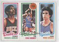 Marques Johnson, Eric Money, Mike Bratz [Good to VG‑EX]