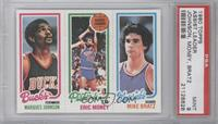 Marques Johnson, Eric Money, Mike Bratz [PSA 9]