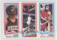 Marques Johnson, Julius Erving, Abdul Jeelani
