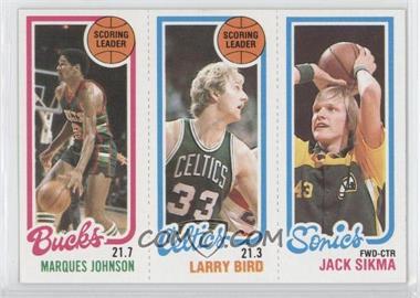 1980-81 Topps #MJLBJS - [Missing]