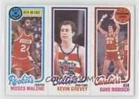 Moses Malone, Kevin Grevey, Dave Robisch [Good to VG‑EX]