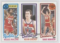 Moses Malone, Kevin Grevey