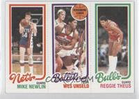 Mike Newlin, Wes Unseld, Reggie Theus