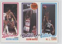 Norm Nixon, Elvin Hayes, M.L. Carr
