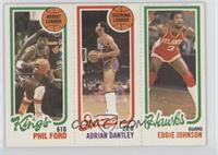 Phil Ford, Adrian Dantley, Eddie Johnson