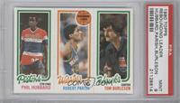 Phil Hubbard, Robert Parish, Tom Burleson [PSA 9]