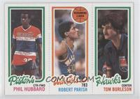 Phil Hubbard, Robert Parish, Tom Burleson
