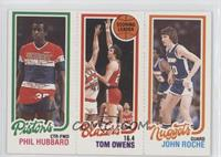Tom Owens, John Roche, Phil Hubbard