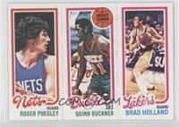 Roger Phegley, Quinn Buckner, Brad Holland