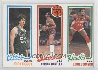 1980-81 Topps #RRADEJ - Rick Robey, Adrian Dantley, Eddie Johnson