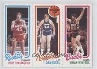 Rudy Tomjanovich, Dan Issel, Brian Winters