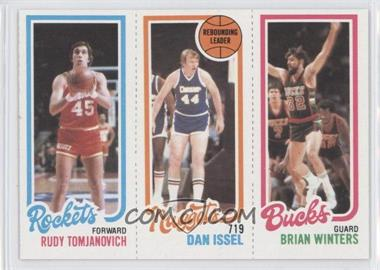 1980-81 Topps #RTDIBW - Rudy Tomjanovich, Dan Issel, Brian Winters